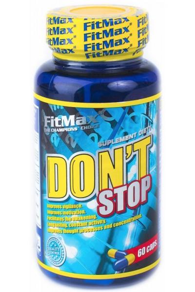 Предтреник-энергетик FitMax Don't Stop (60 капсул)