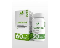 Л-Карнитин (L-Carnitine) - Supports Energy (60 капс)