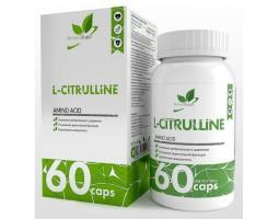 L-Цитруллин (L-Cytrulline), 60 капс.