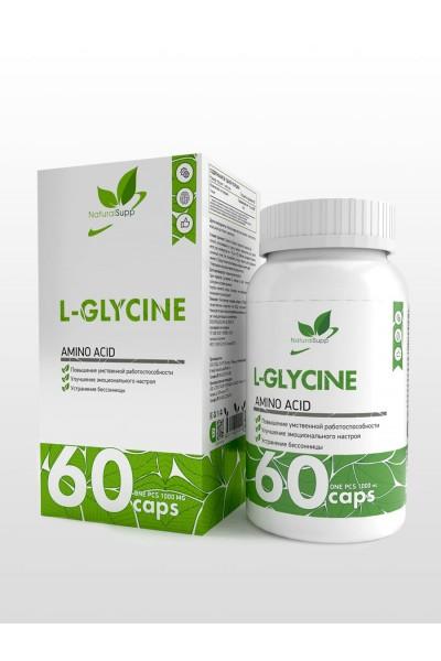 Глицин (L-Glycine) NaturalSupp, 60 капсул