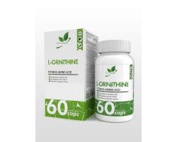 Орнитин (L-Ornitine), 60 капс.