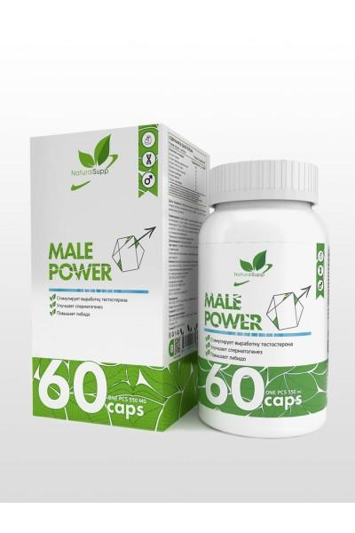 Male power NaturalSupp (мужское здоровье), 60 капсул
