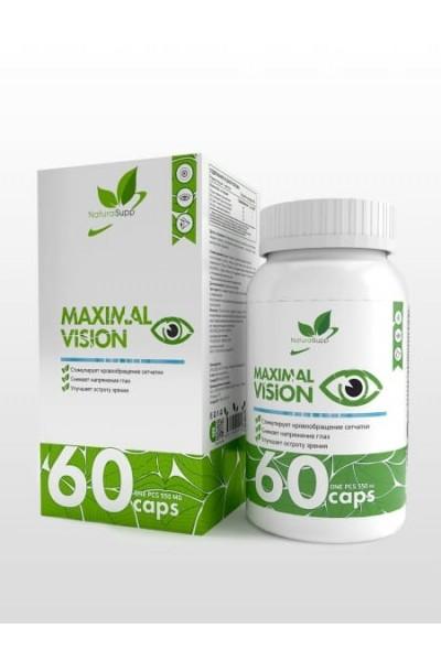 Maximal Vision NaturalSupp (витамины для зрения), 60 капсул
