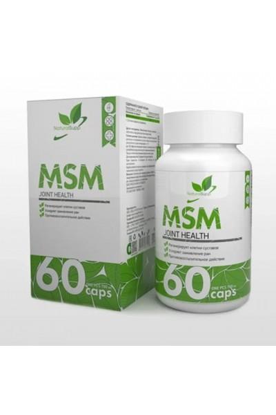 MSM (МСМ) NaturalSupp, 60 капсул