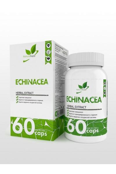 Эхинацея в таблетках - NaturalSupp Echinacea (60 шт)