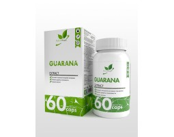 Guarana NaturalSupp (Эктракт гуараны), 60 капс.
