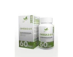 Omega 3-6-9 NaturalSupp (60 капс.)