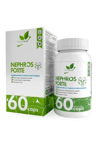 Nephros Phorte NaturalSupp (здоровье почек), 60 капсул