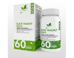Скорлупа черного ореха Black Walnut Hulls (60 капс)