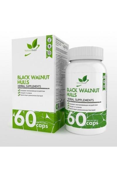 Black Walnut Hulls NaturalSupp - Скорлупа черного ореха (60 капс)