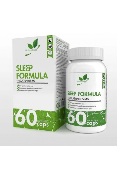 Sleep Formula NaturalSupp, 60 капс.