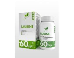 Таурин (Taurine) NaturalSupp, 60 капс.