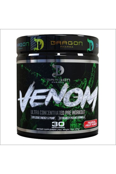 Предтрен Venom Dragon Pharma (30 порций)