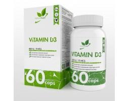 Витамин D 3 NaturalSupp, 60 капс