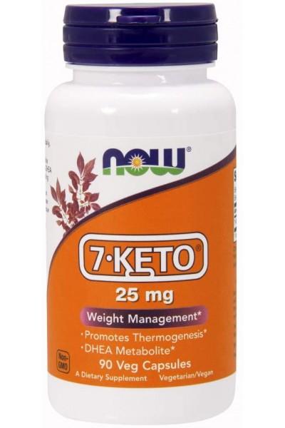 Now Foods ДГЭА 7-Keto (25 mg, 90 veg.caps)