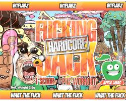 Пробник Fucking Jack Hardcore WTF Labz (6,5г)