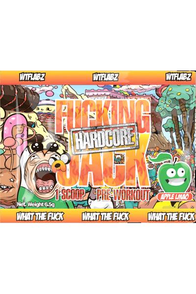 Пробник предтрена Fucking Jack Hardcore WTF Labz (6,5г)