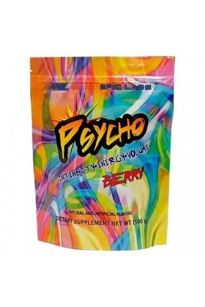 Предтреник энергетик Psycho от Epic Labs, 100/200гр