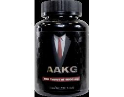 Аргинин (AAKG) Ravnutrition, 1000мг/таб. (100 таб.)