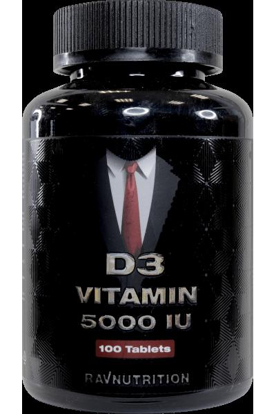 Витамин D3 5000 ед/таб., 100 таб.