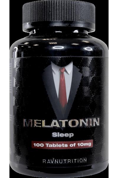 Мелатонин Ravnutrition, 10мг/таб. (100 таб.)