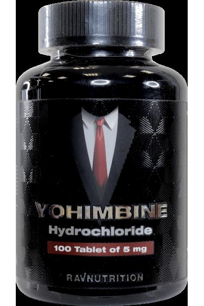 Йохимбин гидрохлорид, 5мг/таб. (100 таб.)
